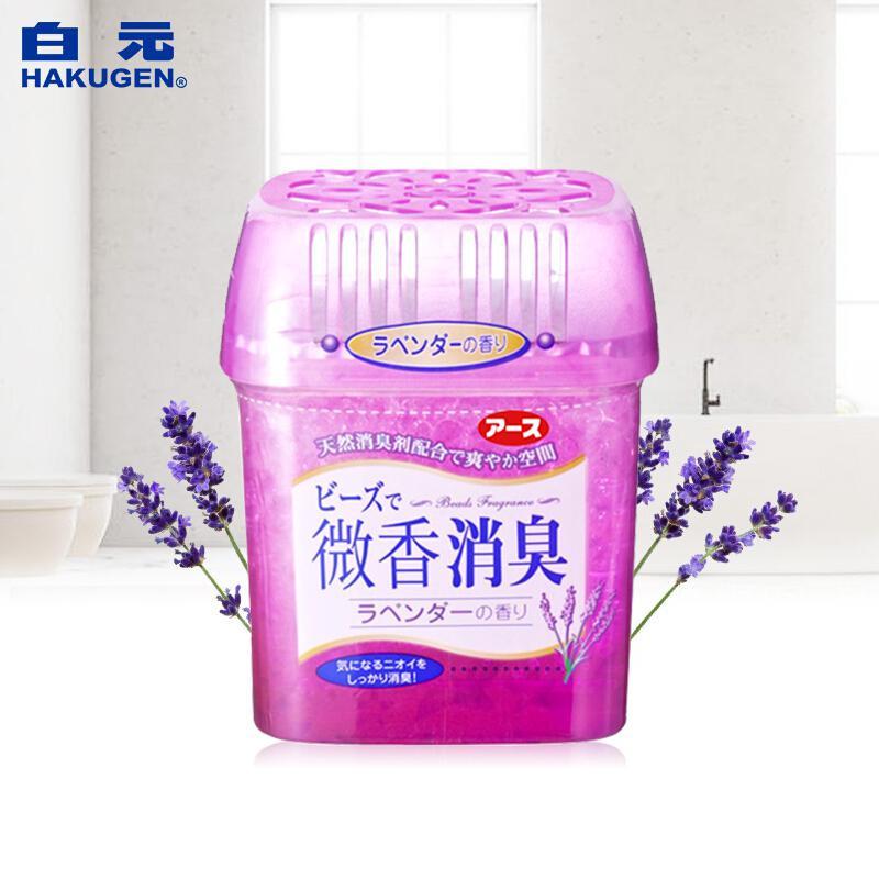 白元 空气清新剂薰衣草香 180g (单位:盒)