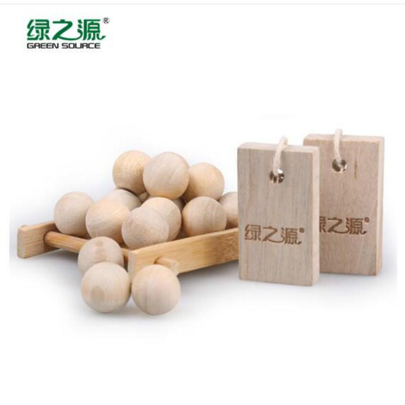 绿之源 10+20 组合木球/木块樟脑丸 (单位:包)