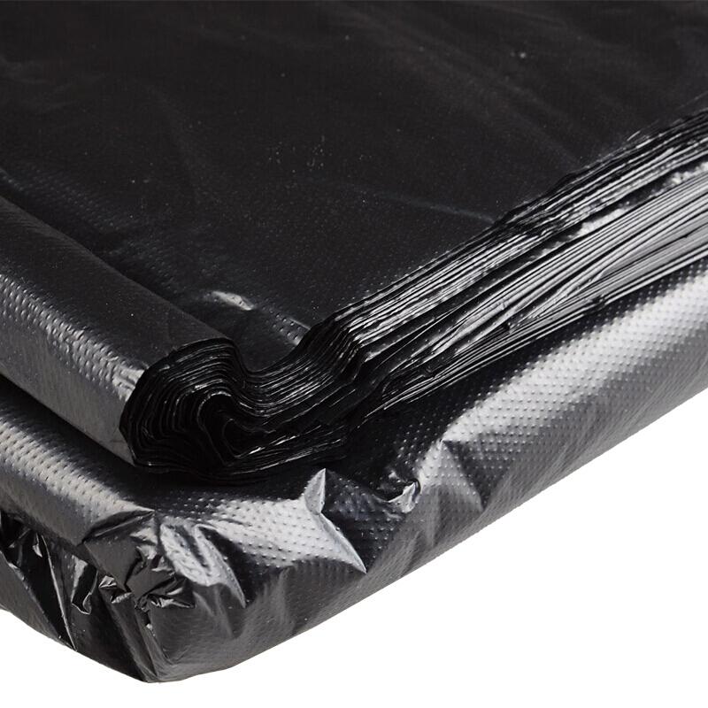 博采定制110*90cm黑色大垃圾袋(50卷一袋装)(卷)