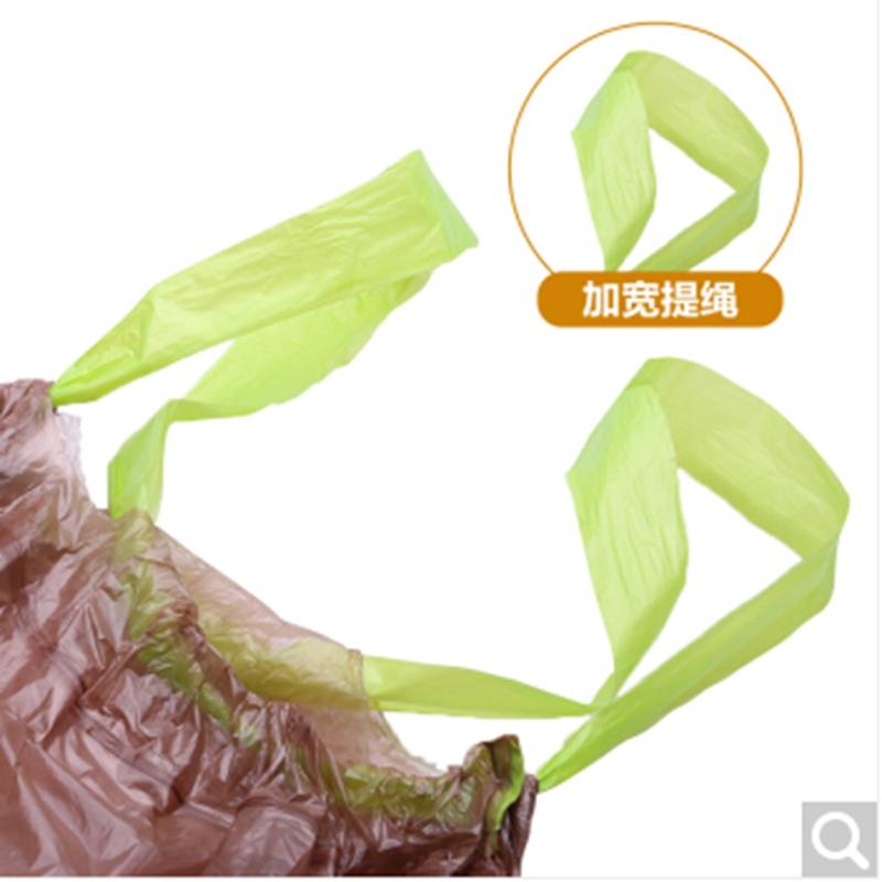 e洁640526-30-4可生物降解收口垃圾袋45*50cm*30只*4卷(包)