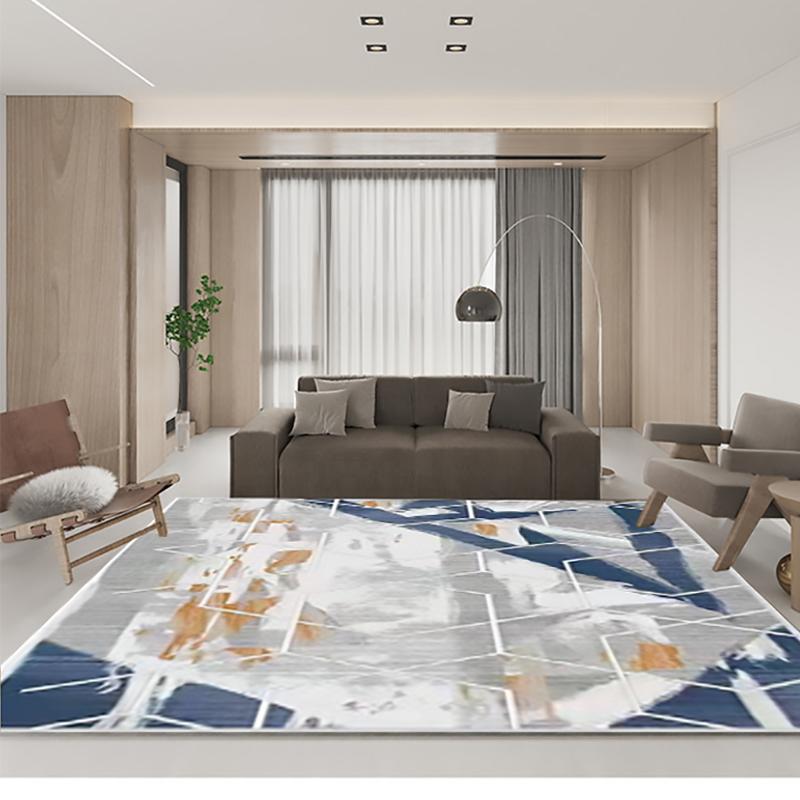 愉悦之家 2*2.9m 轻奢简约 几何之美地毯 大 (计价单位:块)
