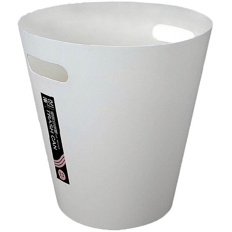 茶花1525简易垃圾桶随机色L号28*28*29cm8.3L362g(个)