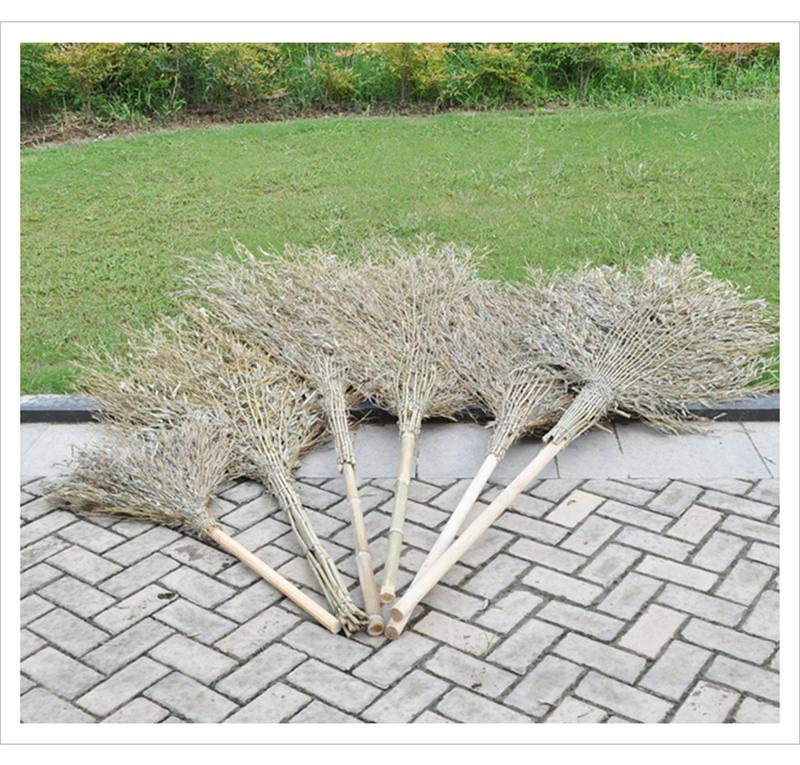 国产竹扫把大号180cm杆长105cm(件)