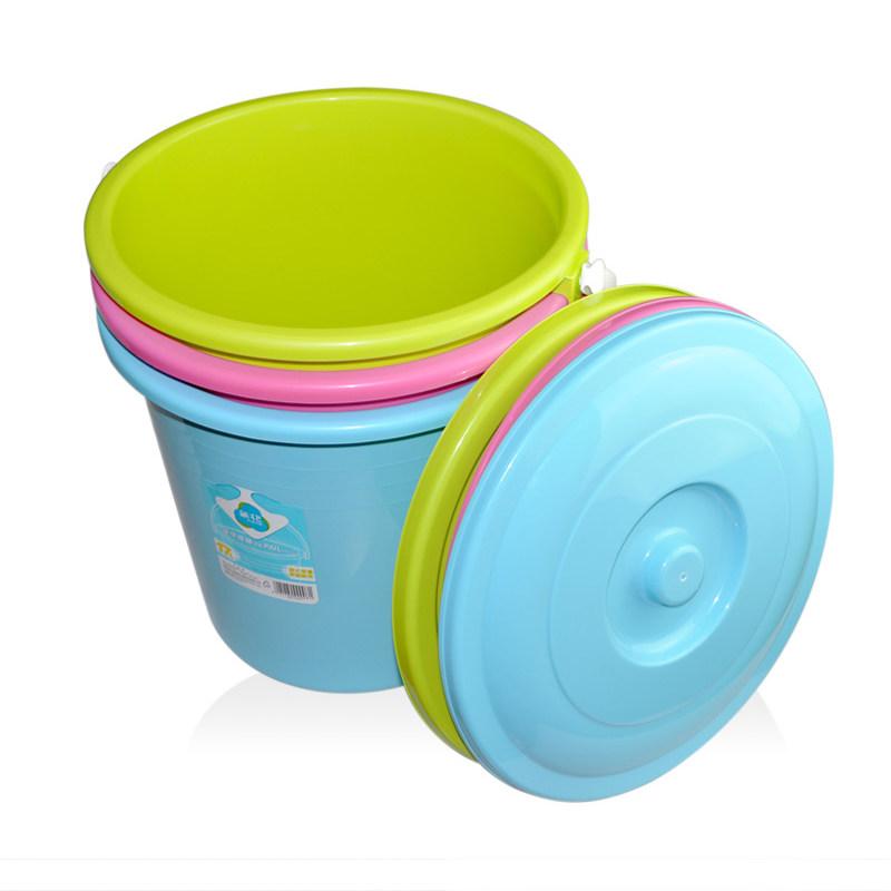 茶花0236-a雅致提桶(含盖)颜色随机?36*35cm21L(个)