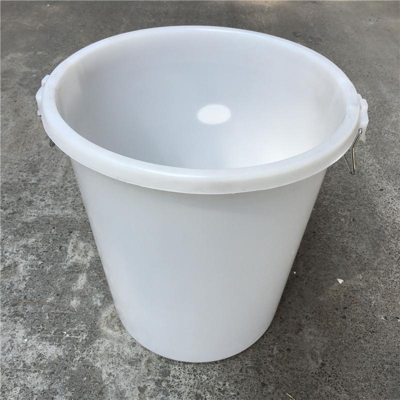 国产无盖加厚圆形塑料大水桶垃圾桶100L(个)