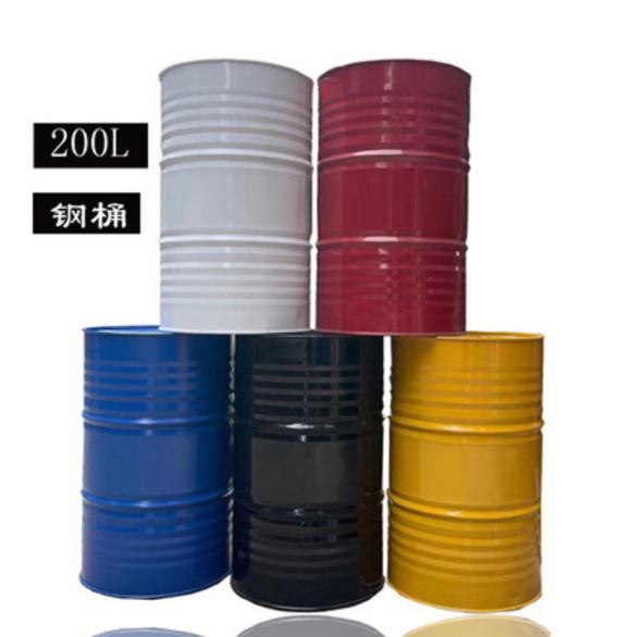 智游虎200L加厚柴汽油桶冷轧钢大铁桶 装饰备用油桶/颜色随机(单位:个)