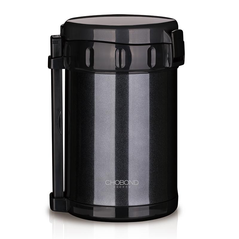 肖邦 CB-M79 伯明翰保温饭盒 黑(单位:个)