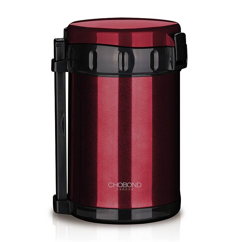 肖邦 CB-M79 伯明翰保温饭盒 红色(单位:个)