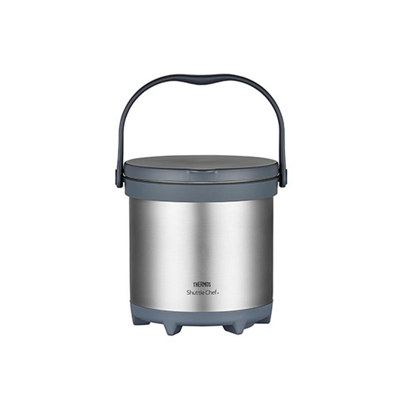 膳魔师TCRA-4500-CS真空不锈钢焖烧锅银色约4.5L(只)