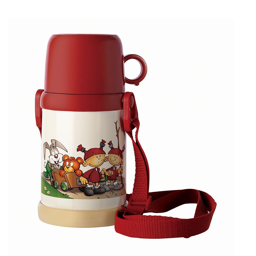 双立人ZW-SJH003/39500-143G真空儿童杯白红色380mL(个)