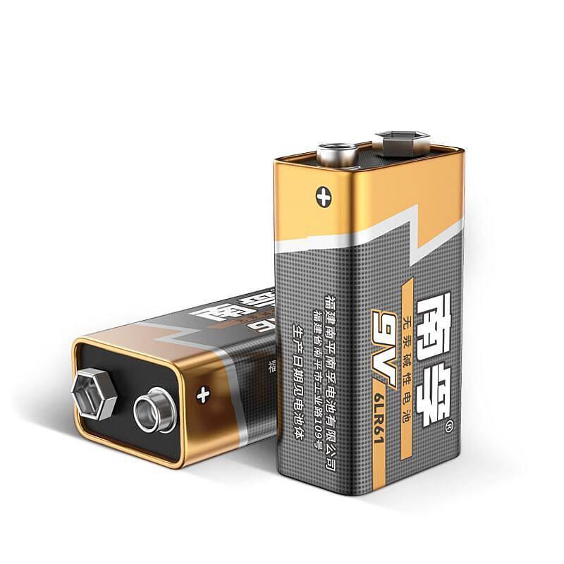 南孚 9VA-1B/9v 碱性电池 1粒/卡 (单位:卡)6LR61