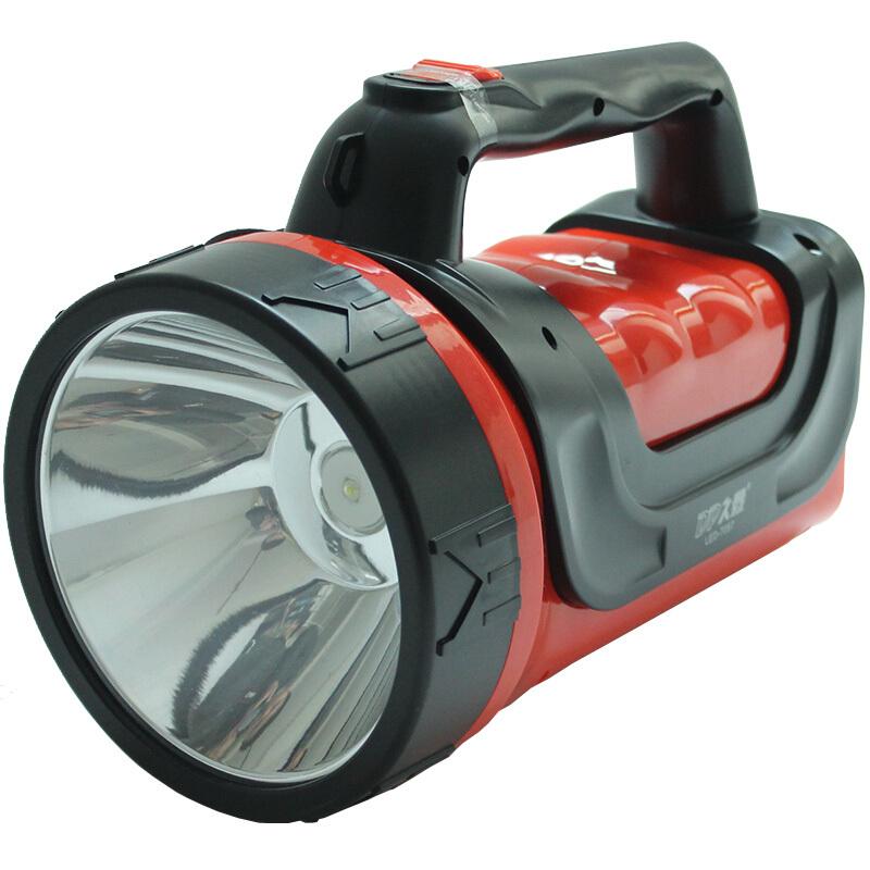 久量7057强光远射充电应急灯户外露营狩猎夜钓手电筒(只)