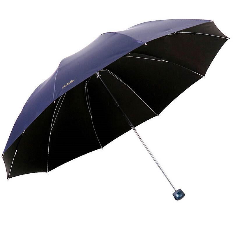 天堂伞33188E折叠加大钢骨晴雨伞40把/箱(把)