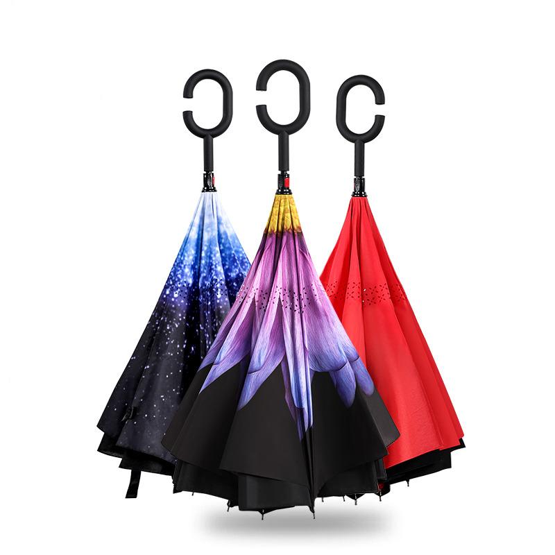 宜洁Y-9339反向伞多色半径60cmx8k (单位:个)