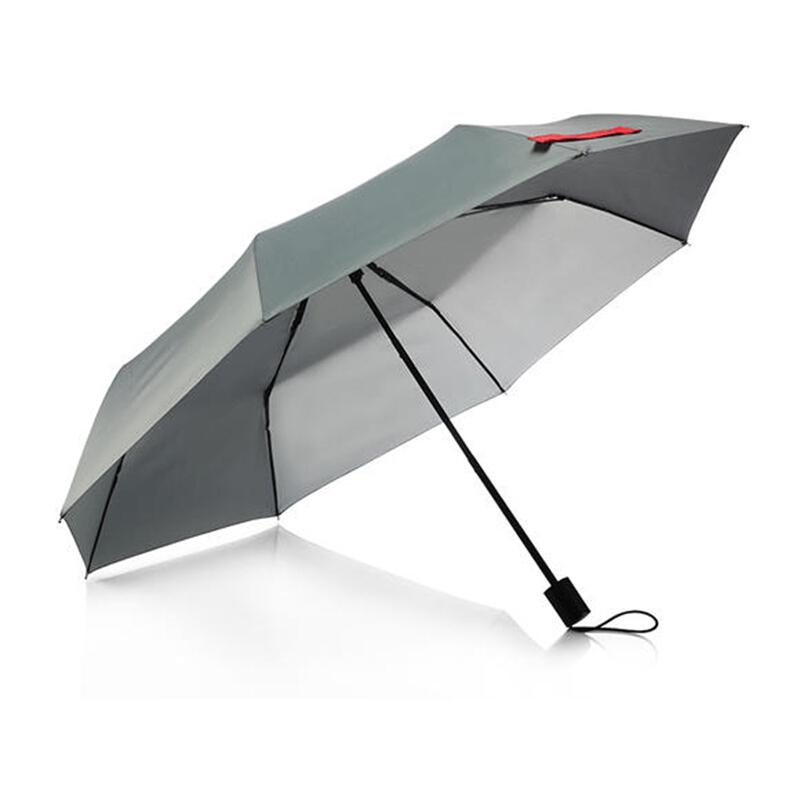 多样屋SP120203011ZZ三折手动伞灰色(把)