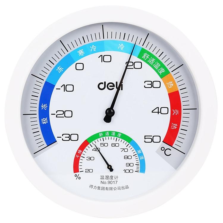 得力 9017 室内温湿度计(单位:只)(混)