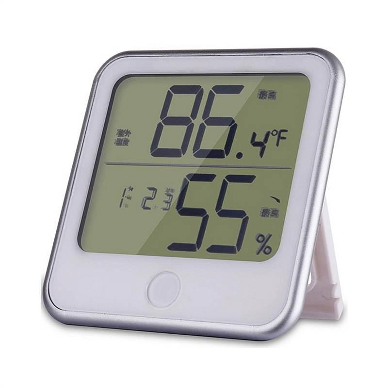 得力8959电子温湿度计(白) (单位:个)