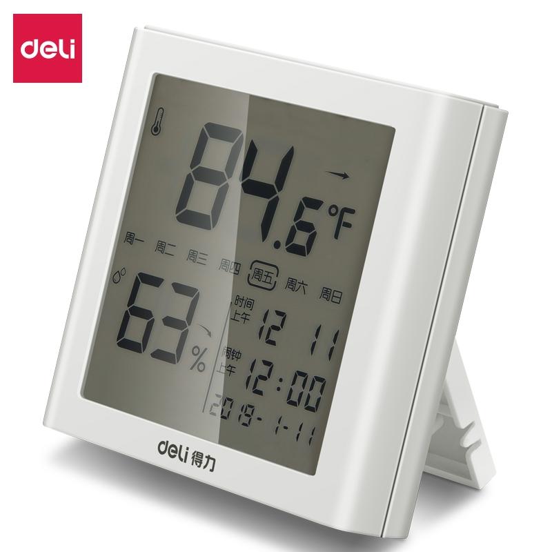 得力 8958 电子温湿度计 (单位:个)