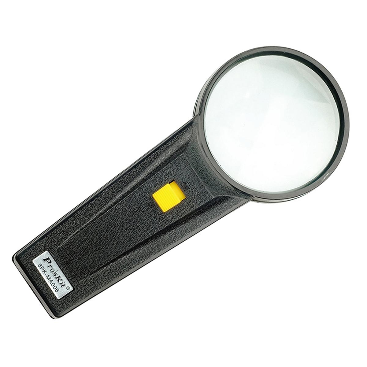 宝工 8PK-MA006 圆形手持带灯4倍放大镜 (单位:个)