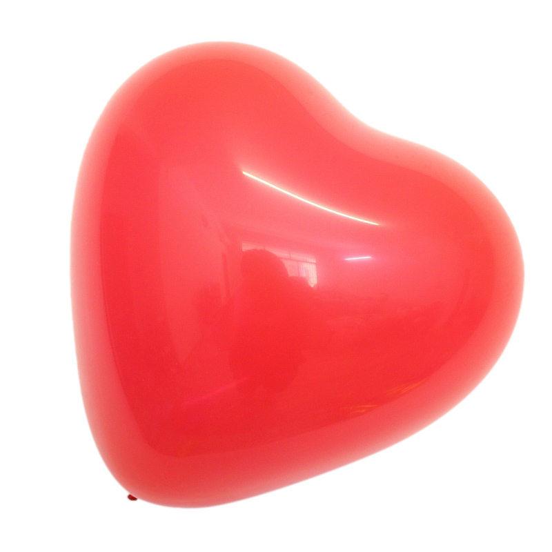 忒爱 HW228心形气球(送打气筒)2.2g/100个/包 (单位:包)
