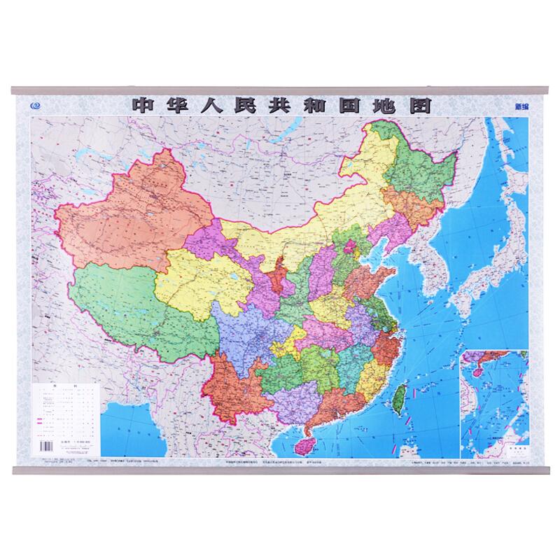 中国地图挂图1.1*0.8m(张)