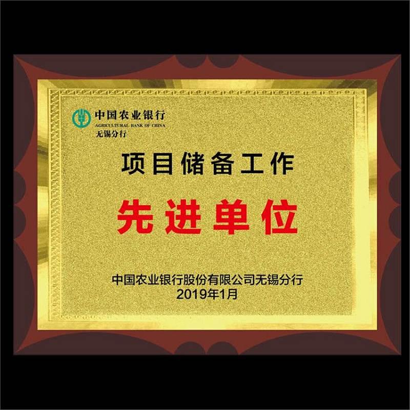 国产奖牌40*30cm,铜牌定制(个)
