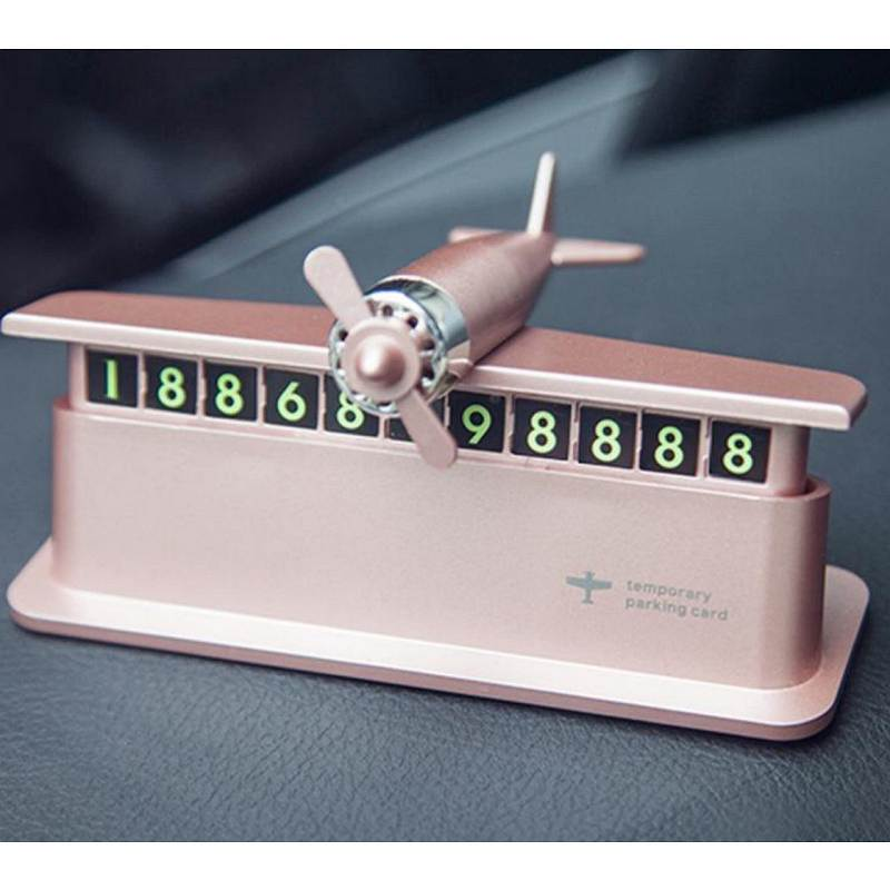 乐默LCA-601车载香薰小飞机号码牌(个)