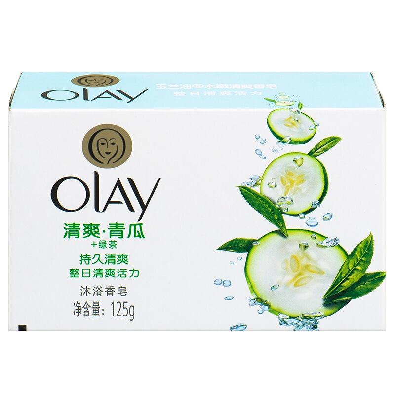 玉兰油  水嫩清爽型护肤香皂 125g (单位:块)