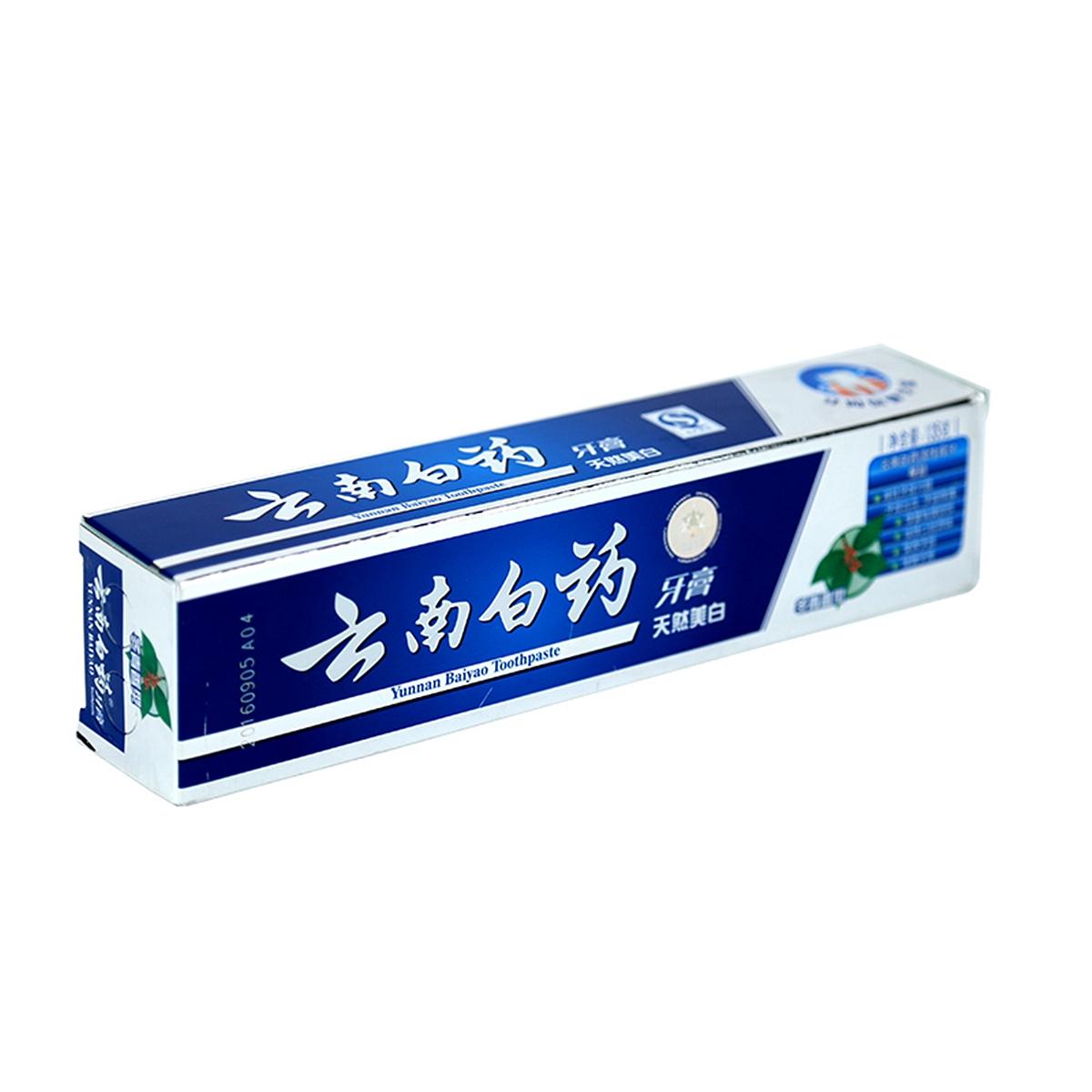 云南白药牙膏135G 口腔护理(冬青香型)(支)