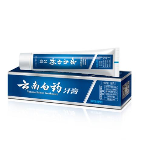 云南白药 牙膏 留兰香型 180G (单位:支)
