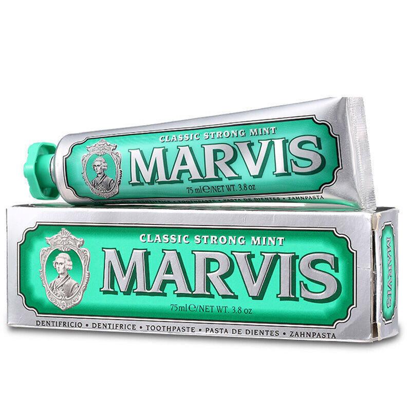 意大利玛尔斯marvis牙膏 绿色 强烈薄荷 85ml (单位:支)