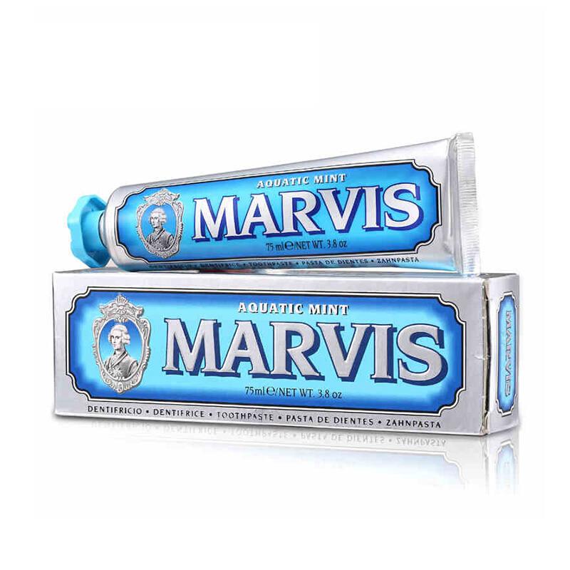 意大利玛尔斯marvis牙膏 蓝色 海洋薄荷 85ml (单位:支)