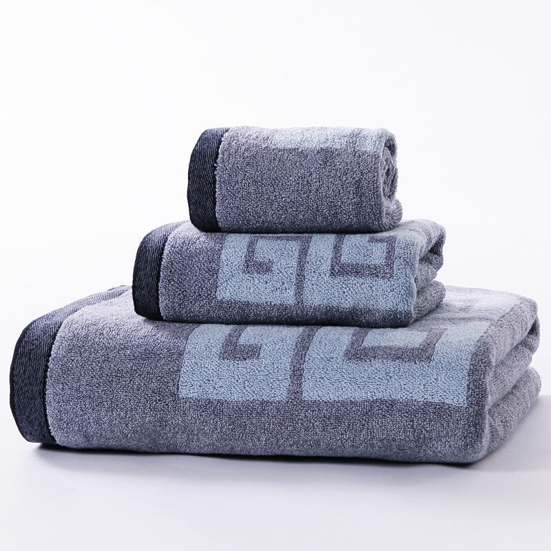 金号花式线毛巾套装礼盒 (S1206/S6206/S3206)三件套(盒)