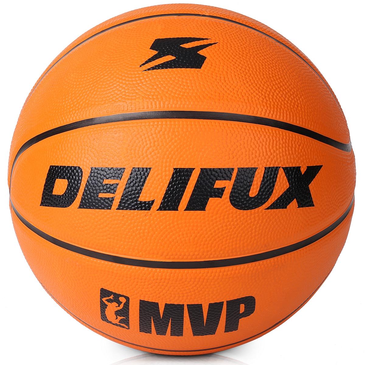 得力风行F1104加厚橡胶7号篮球 球类(橙色)(个)
