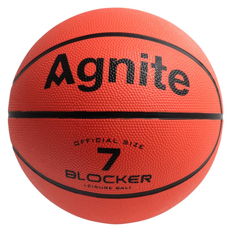 安格耐特 F1103 橡胶7号篮球 (单位:个)(橙色)