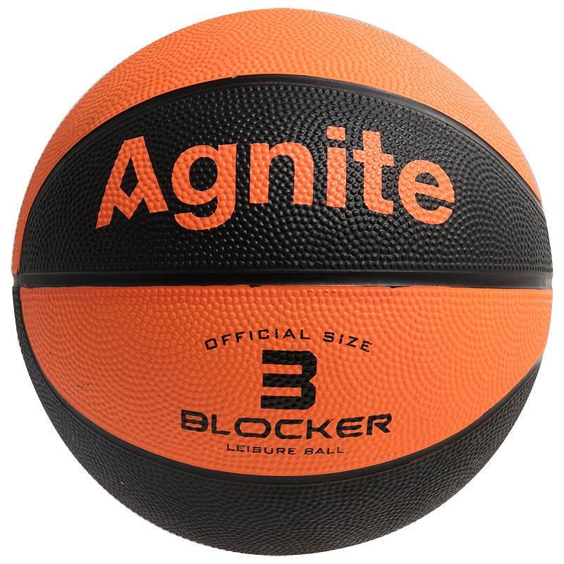 安格耐特 F1101 卡通3号橡胶篮球 (单位:个) (混色)