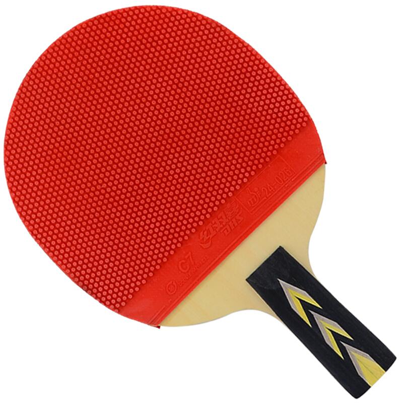 红双喜 R3007直拍双面长反胶三星乒乓球拍 (单位:块)