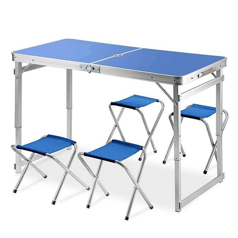 鑫创虹 HT-005  折叠桌(一桌四椅)  (单位:张)
