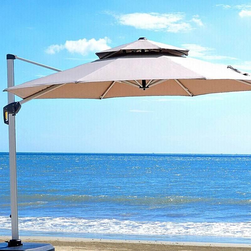 紫叶户外遮阳伞庭院伞4米(顶)