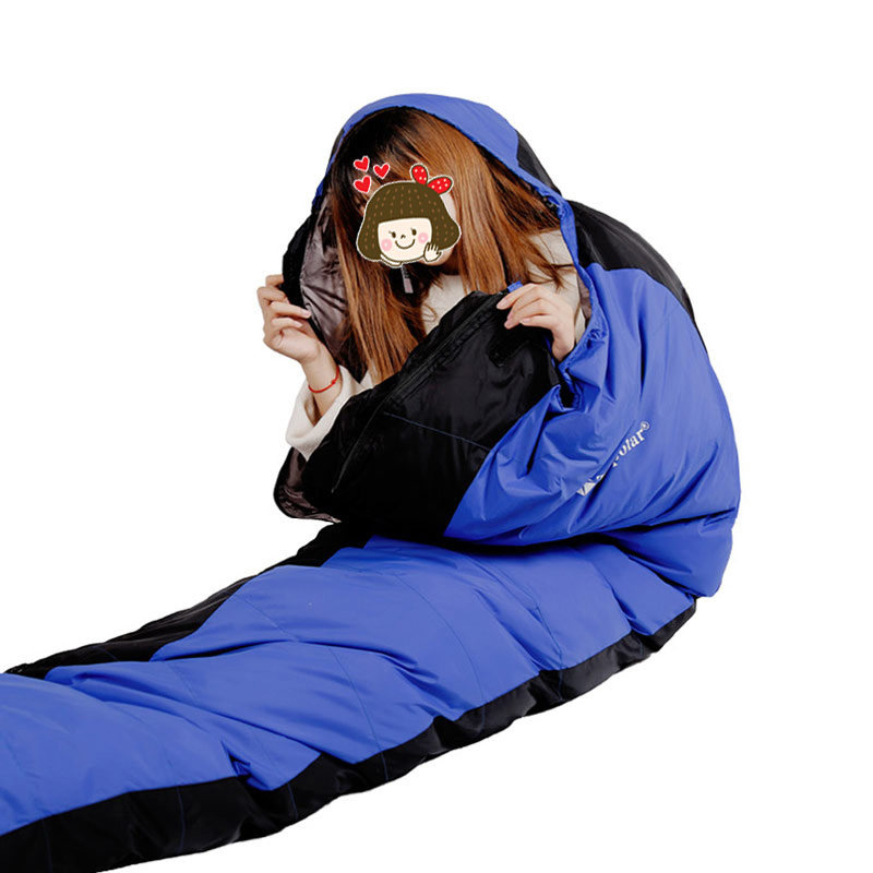 Tri-Polar TP2923 木乃伊式羽绒睡袋220*55*8cm  蓝色 (单位:个)