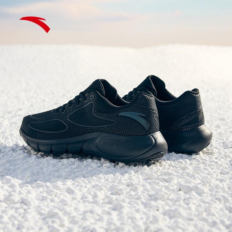 安踏(ANTA)112135555-1休闲鞋男42.5黑(双)