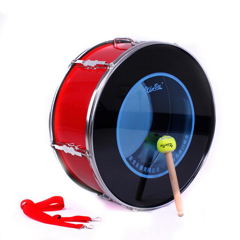 新宝 军鼓乐器175型 红色队鼓少先队大军鼓 鼓皮英寸 外圈24英寸 22英寸(56*58*25cm)(个)