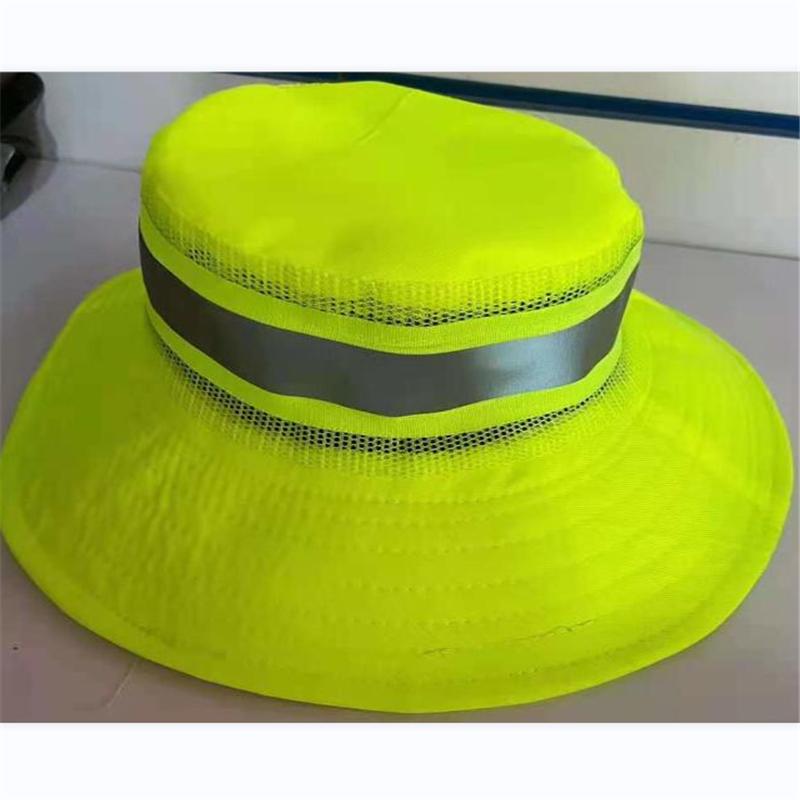 诺诚 环卫帽子 圆顶草帽款 绿色 均码(单位:顶)