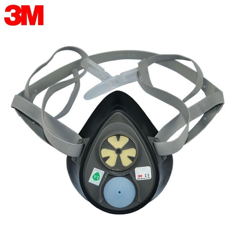 3M/3200CN 单滤盒半面型防护面罩(单位:个)