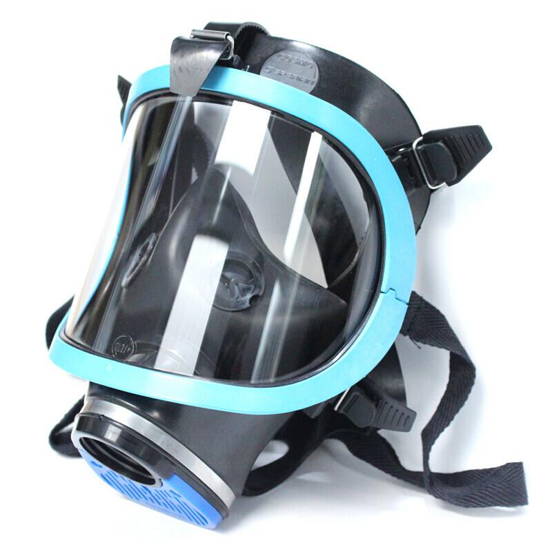霍尼韦尔 1710643蓝EPDM单罐全面罩(单位:个)
