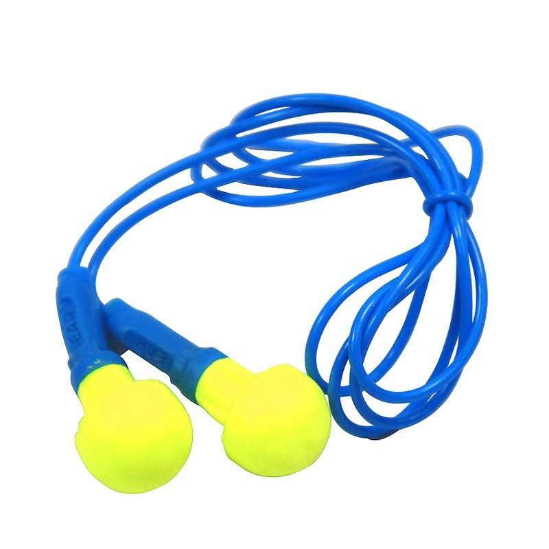 3M 318-1005免揉搓泡棉带线耳塞100付/盒 (单位:付)