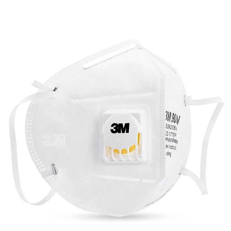 3M 9001V 耳戴式防护口罩 单只装(单位:只)