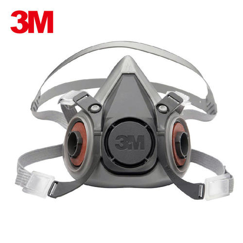 3M62003M6200半面型防护面具灰色2个/包灰色(包)