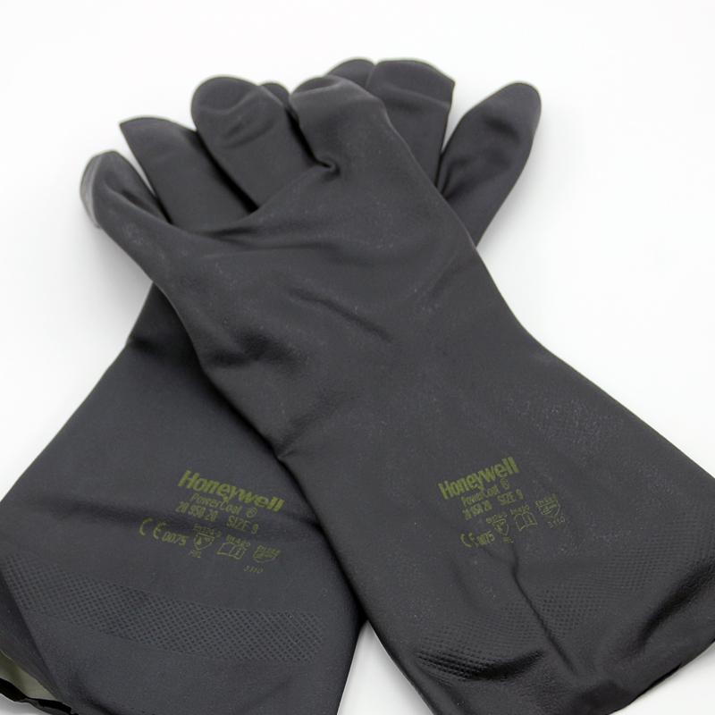 霍尼韦尔 2095020 经典款氯丁橡胶防化手套 (单位:副)