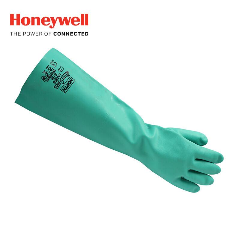 霍尼韦尔LA258G无衬里丁腈手套(双)